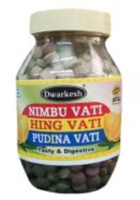 Citystore.in, Digestive Products, Dwarkesh Nimbu Hing Pudina Vati , Dwarkesh
