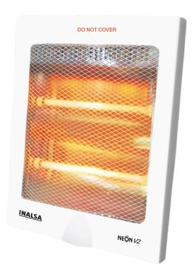 Citystore.in, Home Appliances, INALSA Quartz Heater Neon V2, INALSA