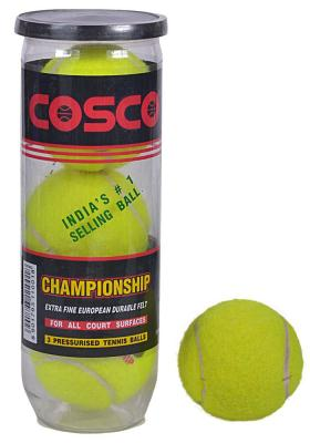 Citystore.in, Sports Accessories, Cosco Championship Tennis Ball(Pack of 3 Balls), Cosco