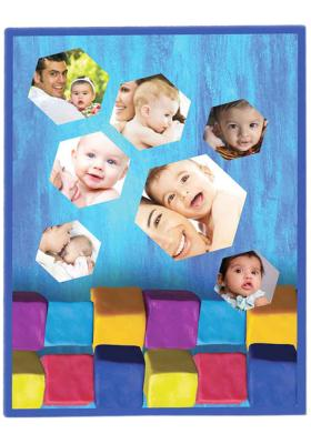 Citystore.in, Kids Zone, Baby Blanket Customised Print All Over 46(40*30 inch), City Store