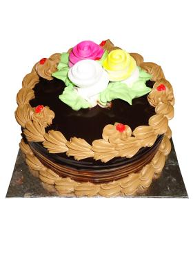 Citystore.in, Flavour Cake, Round Shape Chocolate Cake 1, City Store