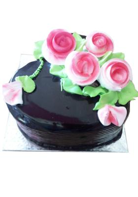 Citystore.in, Flavour Cake, Round Shape Dark Chocolate Cake 2, City Store