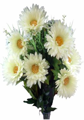 Citystore.in, Flower Bunch, White Gerbera Flower Bunch, City Store