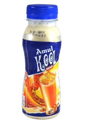 Citystore.in, Cold Drinks, Amul Kool Milk Badam Cold Drink 200ml, Amul