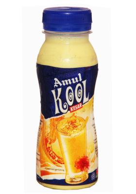 Citystore.in, Cold Drinks, Amul Kool Milk Kesar Cold Drink 200ml, Amul