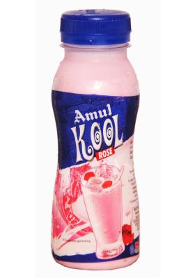 Citystore.in, Cold Drinks, Amul Kool Milk Rose Cold Drink 200ml, Amul