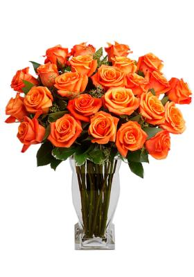 Citystore.in, Flower Bunch, Orange Rose Flower Bunch, City Store
