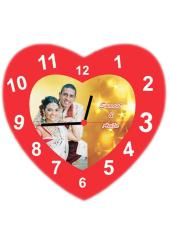 Citystore.in, Clock, PVC Heart Wall Clock 2 (12*12 inch), City Store,