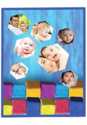 Citystore.in, Kids Zone, Baby Blanket Customised Print All Over 46(40*30 inch), City Store,