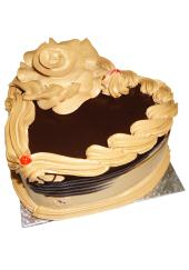 Citystore.in, Flavour Cake, Heart Shape Chocolate Cake, City Store,