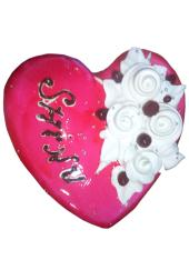 Citystore.in, Flavour Cake, Heart Shap Strawberry Jelly Cake 2, City Store,