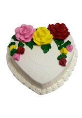 Citystore.in, Flavour Cake, Heart Shape Pineapple Cake , City Store,