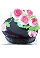 Citystore.in, Flavour Cake, Round Shape Dark Chocolate Cake 2, City Store,