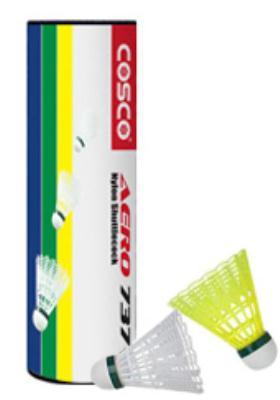 Cosco AERO737 High Durable Nylon Suttlecock(6 Pc Per Box)