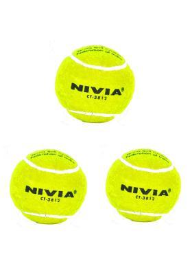 Nivia Tennis Ball (Pack of 12 Balls)