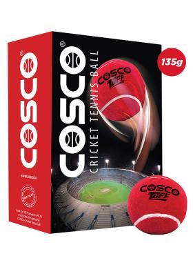 Cosco Cricket Tennis Ball Tuff(Pack of 6 Balls)