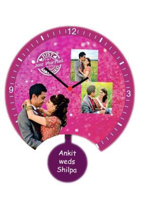 Acrylic Pendulum Wall Clock 1(12*12 inch)
