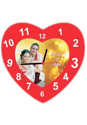 PVC Heart Wall Clock 2 (12*12 inch)