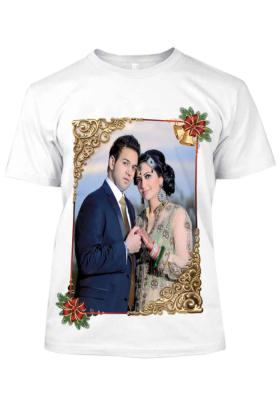 White T-Shirt 20(Print Size 16*22 inch)