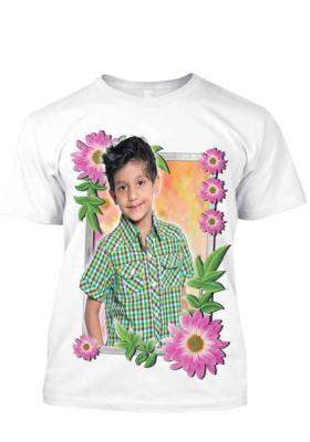 White T-Shirt 22(Print Size 16*22 inch)