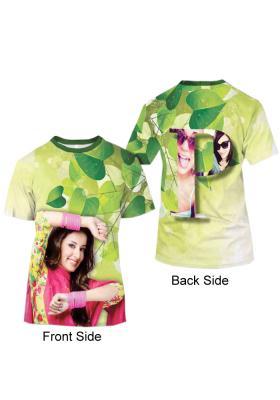 Green Full Print T-Shirt 41