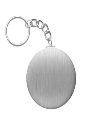 Steel Round Key Chain