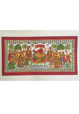 Phad-Painting--size-16x28{ganpati-pooja}